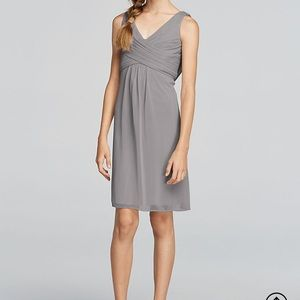 Girls 16 short tank cowl back dress in Mercury